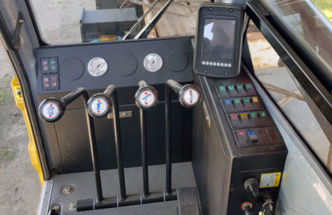 Оборудование кабины автокрана